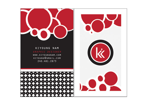 kiyoung business card
