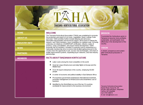 TAHA Website